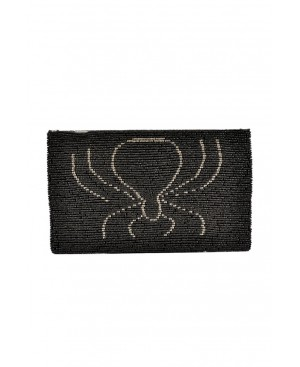 BORRO, Black Spider Handmade Purse