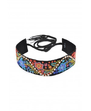 Handmade Bohemian Floral Belt