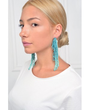 Handmade Chic Turquoise Earrings