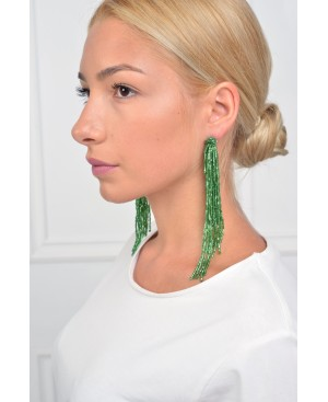 A Star Is Born Green Earrings