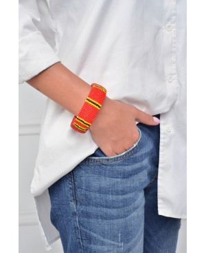 Power Dressing Red Bracelet