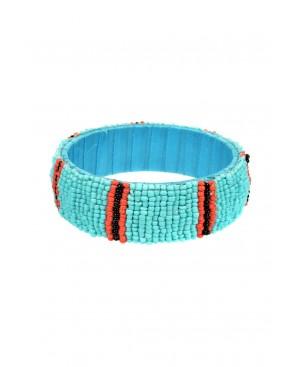 Power Dressing Turquoise Bracelet