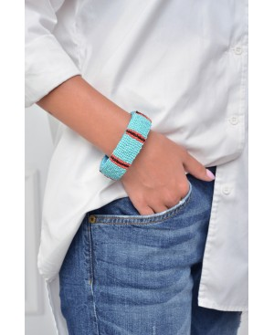 Power Dressing Turquoise Bracelet