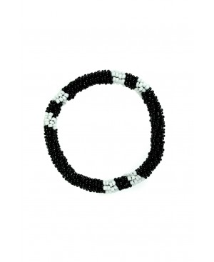 Eclectic Dressing Black Bracelet