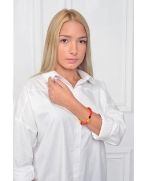 Eclectic Dressing Red Bracelet