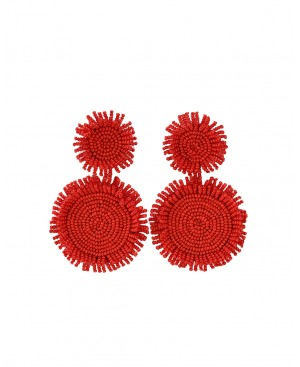 Fabulous Summer Red Earrings