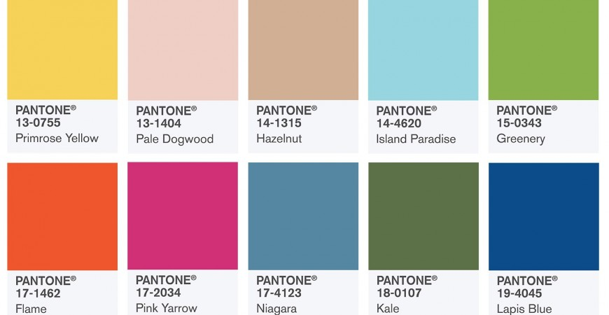 Sneak Preview to Pantone Color of the Year 2017